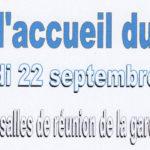 Pot d'accueil du VAC Le samedi 22 septembre 2018